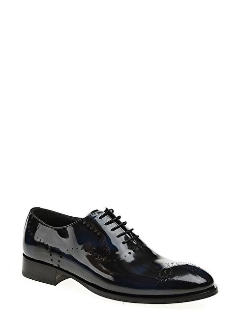 Gardashoes %100 Deri Klasik Ayakkabı Lacivert